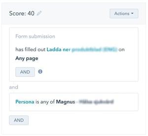 Använd lead scoring i HubSpot för att kvalificera leads